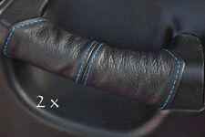 Fits honda crx del sol 2x porte Handel couvre bleu stitch