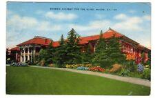 1944 postcard- Georgia Academy for the Blind, Macon, GA