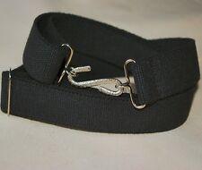 Black 30 mm Adult Boys Mens Girls Elasticated Snake Belt xl xxl xxxl 60 inch b3b