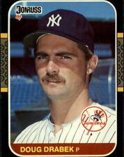 1987 Donruss #'s 251-500 Baseball - You Pick - Buy 10+ cards FREE SHIP