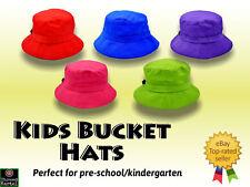 Kids Bucket Hats, Preschool, Kindergarten