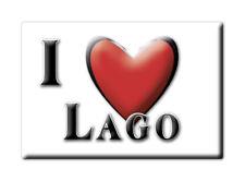 CALAMITA CALABRIA ITALIA FRIDGE MAGNET MAGNETE SOUVENIR I LOVE LAGO (CS)--