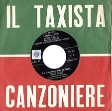 FRANCO TRINCALE disco 45 giri LA CANZONE DEL TAXISTA made in Italy CARLO MONGE