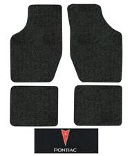 1985-1991 Pontiac Grand Am Floor Mats - 4pc - Cutpile
