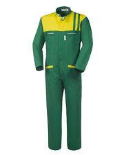Tuta Intera Coreana da Lavoro Meccanico Officina Gommista Verde Lotus A41807