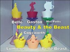 DISNEY Bella & La Bestia Party a tema cupcake Wrappers x12 molti tra cui scegliere
