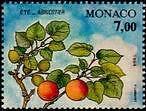 """MONACO N° 1954 """"LES QUATRES SAISONS DE L'ABRICOTIER, ETE""""xxTTB"""