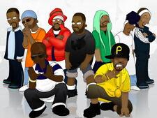 Wu-Tang Clan Art Hip-Hop Rap Music Giant Wall Print POSTER