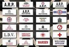WW2 Homefront ARP NARPAC WVS CS CD Civil Defence Brassard Armband (Reproduction)
