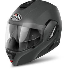 Helmet Airoh Rev grey anthracite mat flip up fullface jet moto touring adventure