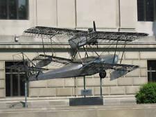 Giant 1/6 Scale Budd BB-1 Pioneer Amphibian Seaplane Biplane Plans, Templates
