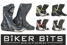 Richa Blade Wasserdicht Schwarz/ Weiß/ Rot/ Gelb Ce Sport Motorrad Stiefel