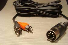 10m Kabel 7-pol auf 2xCinch für TV-Ton über Bang Olufsen AUX Buchse Beosound Beo