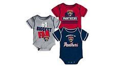 NWOT Florida Panthers Boys Infant Baby Bodysuit Creeper Jersey Shirt Romper