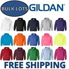 Gildan Hoodie Pullover Bulk Lots S-XL Wholesale Sweathirts Choose Colors 18500