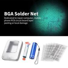 CPU Repair BGA Chip Paint-Shedding Tool Kit Solder Mask Net Reball Stencil New