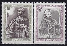 POLAND 1986 **MNH SC#2773/74 POLISH ROYALTY (I)
