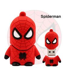 USB Stick Spiderman Super Heros  3D  4GB, 8GB, 16GB,32GB, 64GB, Muster