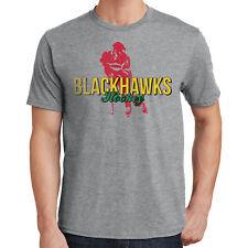Blackhawk Hockey T-Shirt Chicago Sports 2242