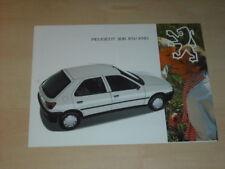 32499) Peugeot 306 XN XND Prospekt 199?