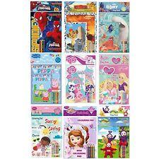 Play Pack colorantes Pad Lápices De Colores artes y oficios Páginas Color Libro De Cine