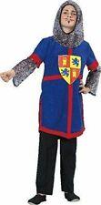 Karneval Kostüm Ritter mit Haube Fasching Ritterkostüm Jungen Kinder 116 128 140