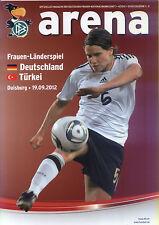 EM-Qualifikation 19.09.2012 Deutschland - Türkei in Duisburg, DFB-Arena 4/2012