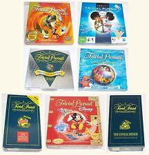 Vintage Trivial Pursuit 1993 1992 Annual Millennium Disney Kids Globetrotter