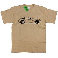 Herren Original Skizze BMW z4 Cabrio T Shirt ~ Retro Deutsche Sportwagen M