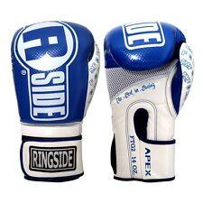 Ringside Boxing Apex Flash Sparring Gloves - Blue / White