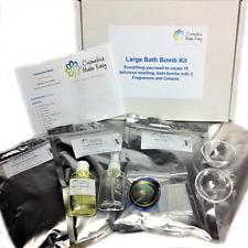 Bath Bomb Making DIY Craft Kit - Makes 18 x 100g Bombs, Choose Fragrance