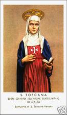 SANTINO HOLY CARD SANTA TOSCANA