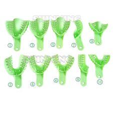 Impressione 10pcs / bag dentale perforato plastica Vassoi Autoclave Holder Denti