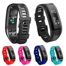 Replacement Soft Silicone Bracelet Strap Wrist Band for Garmin Vivosmart HR
