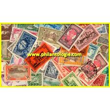 Martinique timbres de collection tous différents.