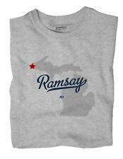 Ramsay Michigan MI Mich T-Shirt MAP