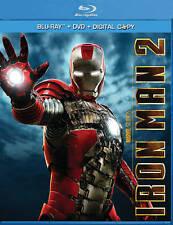 Iron Man 2 (Blu-ray/DVD, 2010, Includes Digital Copy) 3-DISC SET, GREAT SHAPE