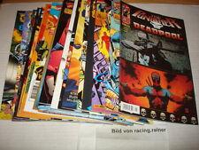 Marvel DC Crossover Bereich 1-33 Panini , deutsch in Top Zustand