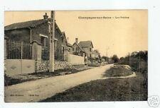 CHAMPAGNE-sur-SEINE (77) LES POIRIERS , VILLAS animées
