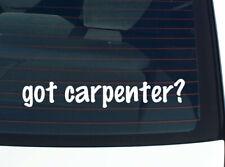 got carpenter? Family Tree Reunion Last Name Surname Decal Sticker Car Wall Cute