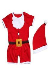 Bilo 2-PC Baby Christmas Santa Costume Romper with Hat