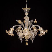 CA 'Venier lámpara de cristal de Murano 5 luces