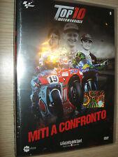DVD N°8 TOP 10 MOTOMONDIALE MITI A CONFRONTO TOP10 ROSSI DOOHAN LORENZO STONER
