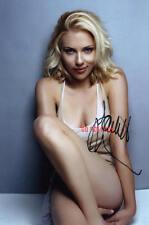Scarlett Johansson Repro-Autogramm signed Preprint