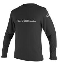 O 'Neill Para hombre Erupción Camiseta. Skins UPF50+ negro de manga larga Rash Guard Top 8S 39 2