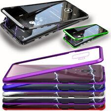 Magnet Case Hülle für Samsung Galaxy S9 / S9 Plus Cover Bumper induktives Laden