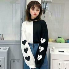 Woman Girl Long Sleeve T-Shirt Cotton Harajuku Kawaii Clothing Korean Ulzzang