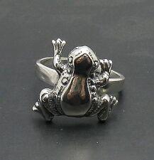 Anello argento Sterling Rana massiccio 925 R000799 EMPRESS