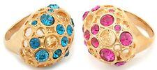 Zest Swarovski Honeycomb Ring