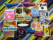 vtg 1980s Asstd. surf street sticker - OP Nose Guard HIC O'Neill Hot Tuna